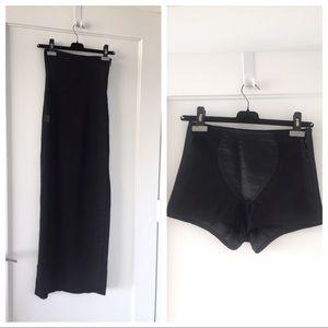 Dolce&Gabbana Boutique Skirt with Corset Short